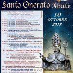Scarica la pubblicazione flyer 2018 di Santo Onorato patrono di Fondi